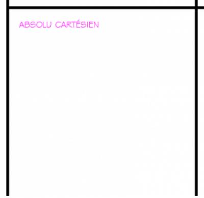 Utiliser les coordonn es absolues cart siennes autocad for Fenetre zoom autocad