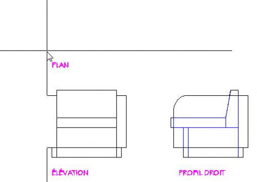 Elevation D Un Plan : Agrandir le réticule et dessiner à l aide du mode d