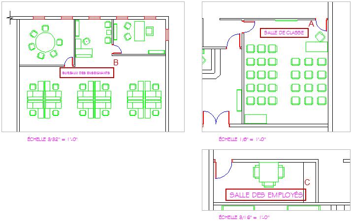 D terminer la hauteur d 39 un style de texte autocad 2d et 3d for Bloc autocad fenetre